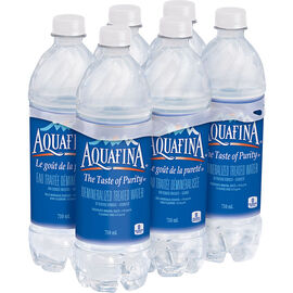 Aquafina Water Case - 6 x 710ml