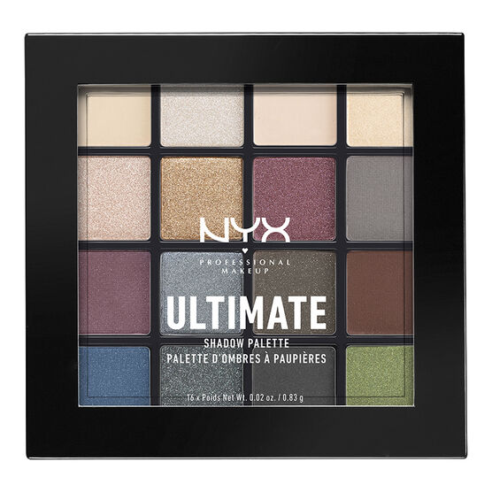 NYX Professional Makeup Ultimate Shadow Palette - Smokey & Highlight