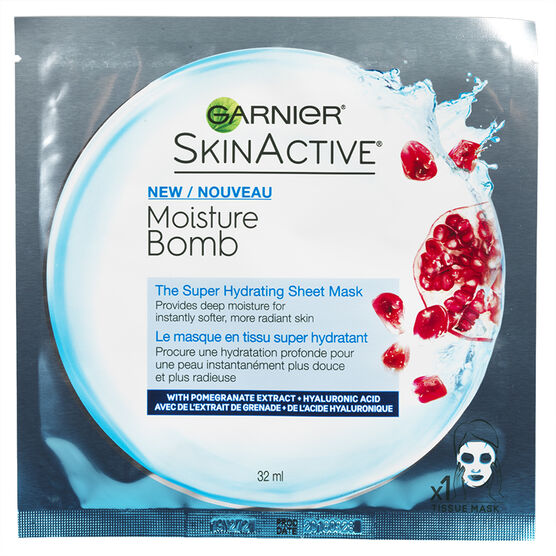 Garnier SkinActive Moisture Bomb Mask - 32ml