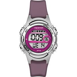 Timex Marathon Mid Size Watch - Purple/Silver - TW5M111009J