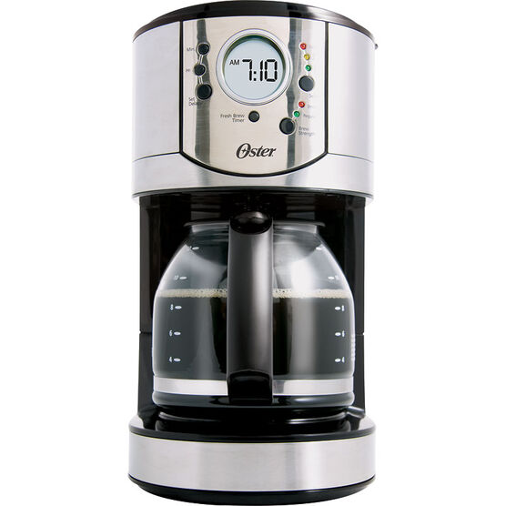 Oster Drip Coffee Maker : Oster 12 Cup Programmable Coffee Maker - BVSTCJ0031-033A London Drugs
