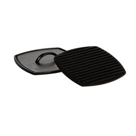 Lodge Cast Iron Panini Press - Black - 8.25inch