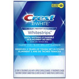 Crest 3D White Whitestrips - Classic Vivid - 10 Treatments