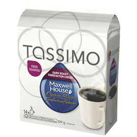 Tassimo Maxwell House Dark Roast - 14 servings