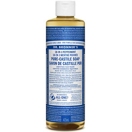 Dr. Bronner's 18-IN-1 Pure-Castile Liquid Soap - Peppermint - 473ml