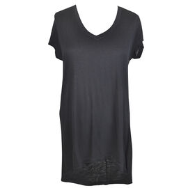 Lava Short Sleeve V-Neck High Low Tee - Assorted