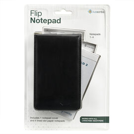 Livescribe Flip Notebook - 4 pack - Black Cover - ANA-00037
