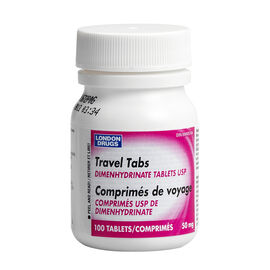 London Drugs Travel Tablets 50mg - 100's