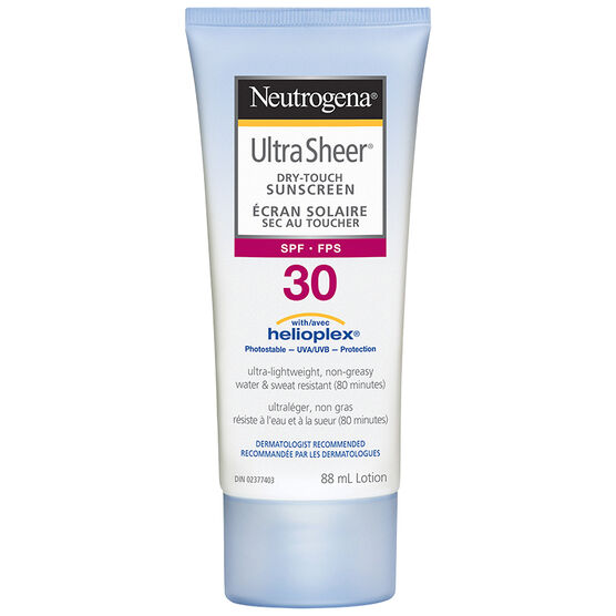 Neutrogena Ultra Sheer Dry-Touch Sunscreen Lotion - SPF 30 - 88ml