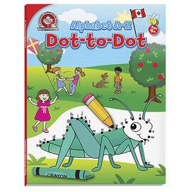 Canadian Curriculum Press Alphabet A-Z  Dot-to-Dot Book