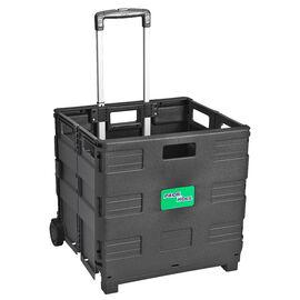 London Drugs Folding Trolley Box - Black/Grey