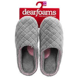 Dearfoam Clog Slipper - Shale - Assorted