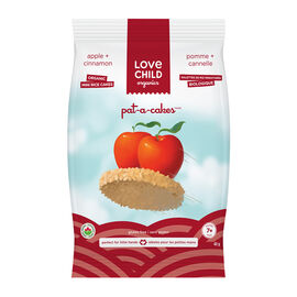 Love Child Pat-a-Cakes - Apple and Cinnamon - 40g