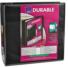 Avery Durable View Binder - Black - 7.6cm (3inch)