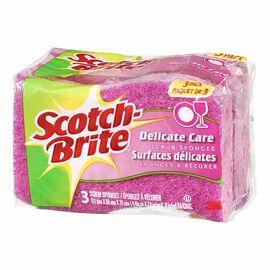Scotch-Brite Delicate Duty Scrub Sponge - 3 pack