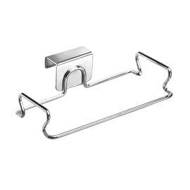 InterDesign Over the Cupboard Bag Holder - Chrome