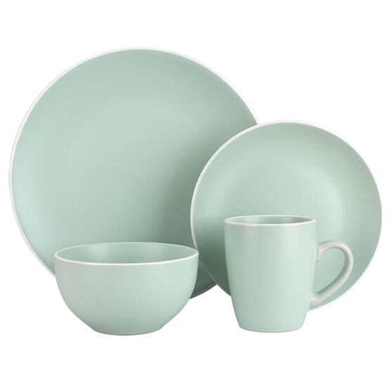 London Drugs Stoneware Matt Dinnerware - Green