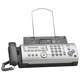 Panasonic Digital Answering Corded Phone System with Fax/Copier - KX-FP215S - Silver