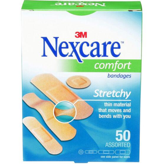 3M Nexcare Comfort Strips - 50's - Assorted