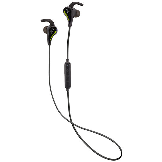 JVC Sport Wireless Earbuds - Black - HAET50BTB