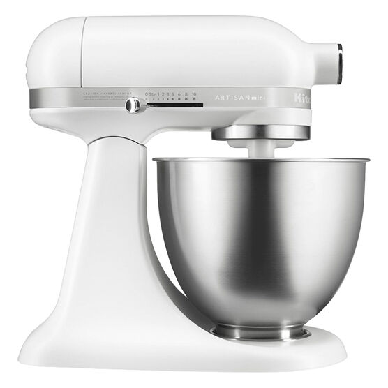 KitchenAid 3.5Q Artisan Mini Mixer - Matte White