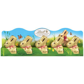 Lindt Mini Gold Bunnies - 5 pack/50g