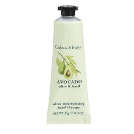Crabtree & Evelyn Avocado, Olive & Basil Ultra-Moisturing Hand Therapy - 25g