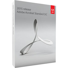 Adobe Acrobat Standard DC for Windows - 2015