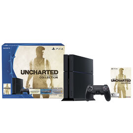 PS4 500GB System with UNCHARTED: The Nathan Drake Collection Bundle