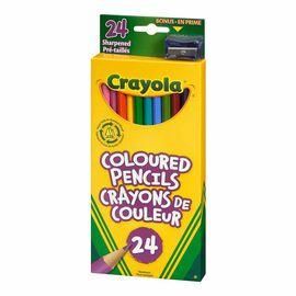 Crayola Coloured Pencils - 24 pack