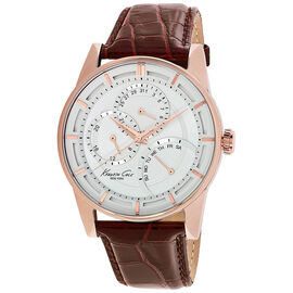 Kenneth Cole Dress Sport Watch - Brown/Rose Gold - 10020815