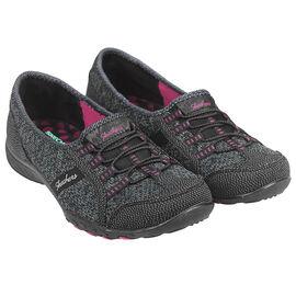 Skechers Ladies Breathe Easy Dreamkeeper Casual Sneakers - Black