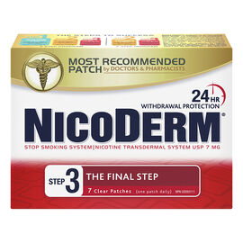 Nicoderm Clear Step 3  - 7mg - 7's