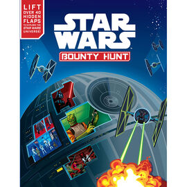 Star Wars Bounty Hunt: Lift-The-Flap Book