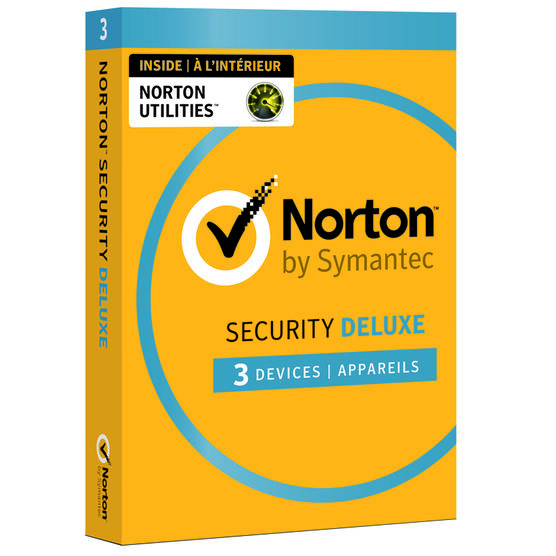 Norton Security Deluxe 3.0 with Norton Utilities - 3 Devices