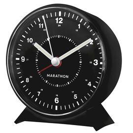 Marathon Mechanical Clock - Black - CL034001BK