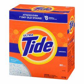 Tide Ultra Powder Laundry Detergent - Original - 3.1kg / 80 Use