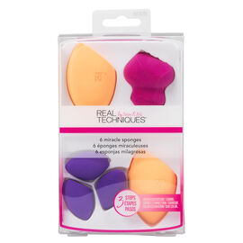 Real Techniques Miracle Sponge - 6 pack