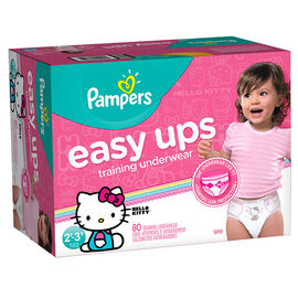 Pampers Easy Ups Training Underwear - 2T/3T - 80ct