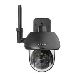 Motorola FOCUS73 Outdoor WiFi Camera - Black - FOCUS73