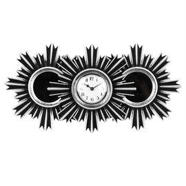 London Drugs Wall Mirror & Clock - Round - 3 piece