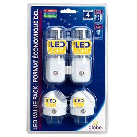 Globe LED Night Light - 88204