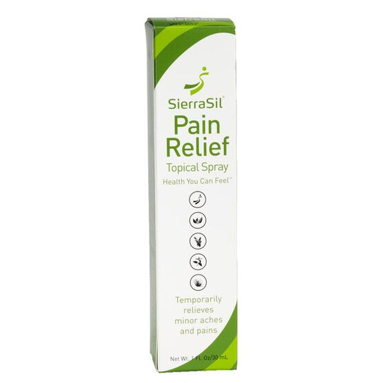 SierraSil Pain Relief Topical Spray - 30ml