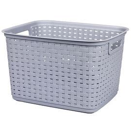 Sterilite Tall Weave Basket - Cement