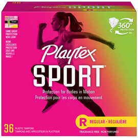 Playtex Sport - Regular - Unscented - 36's