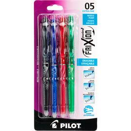 Pilot FriXion Point 0.5mm Extra-Fine Erasable Pens - Business Colours - 4 pack