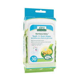 Bamboo Baby Tooth 'n' Gum Wipes - 30's