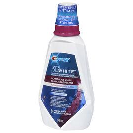 Crest 3D White Multi-Care Whitening Oral Rinse - Fresh Mint - 946ml