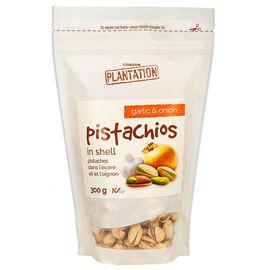 London Plantation Pistachios - Garlic - 300g