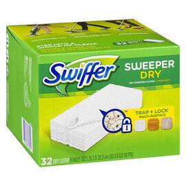 Swiffer Sweeper Cloths Refill - 32's